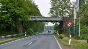Eisenbahnbrücke Stolzenauer Straße