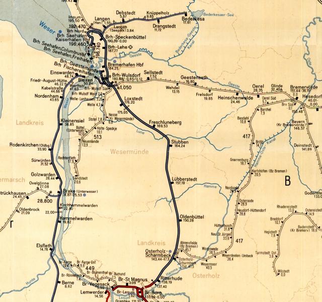 Karte OHZ-BRV640