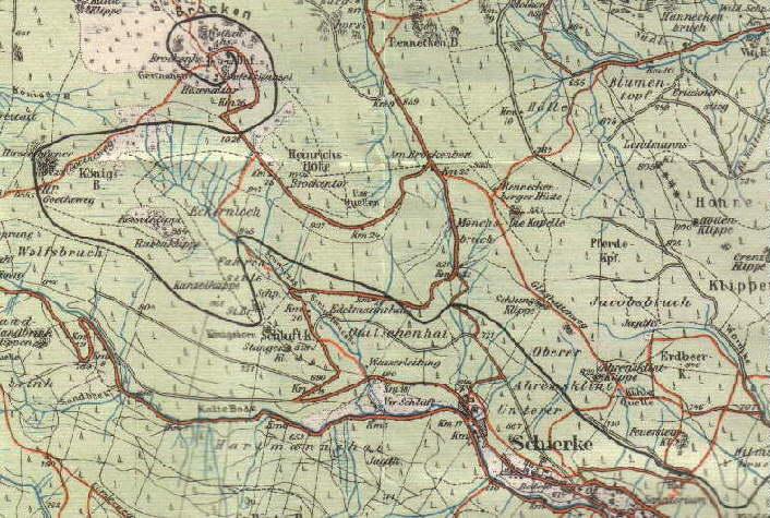 Brockenbahn_Karte_1912